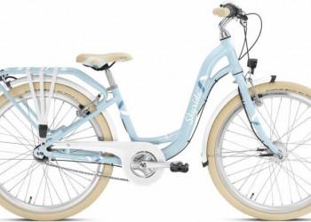 Puky Skyride 24-7 (7-Gang) Alu light retro blue